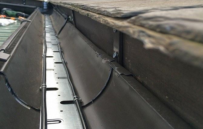 Греющий кабель для водостока