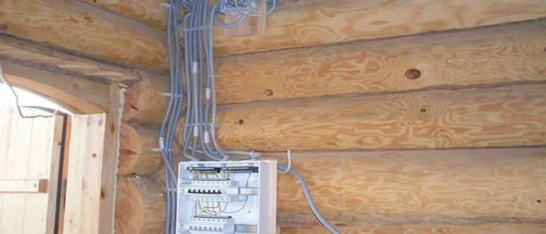 Электрощит проводки в доме