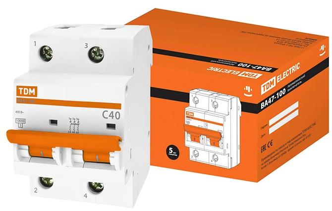Автоматический выключатель для электропроводки