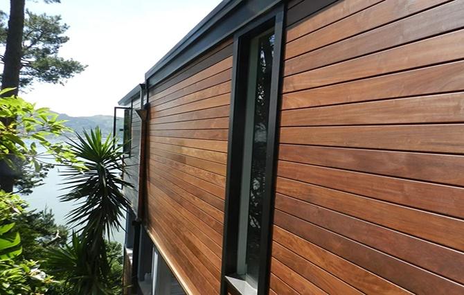 Дом с деревянным сайдингом