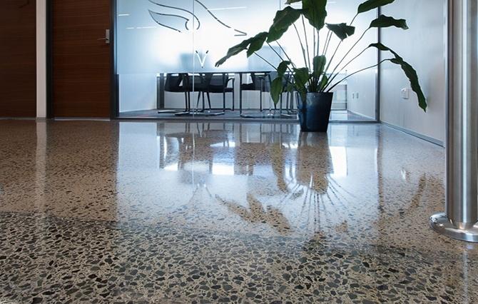 Наливной бетонный пол