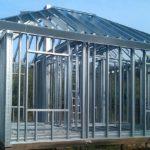 Каркасный металлический дом