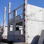 Железобетонный панельно-каркасный дом
